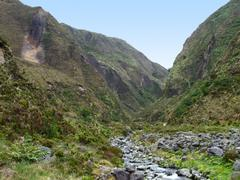 Rocky landscape at the azores Stock Photos