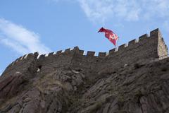 Ankara castle Stock Photos