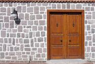 Stock Photo of traditional door as background