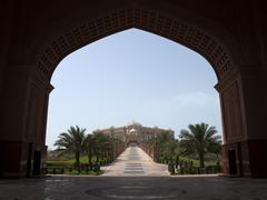 Abu dhabi palace Stock Photos