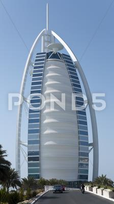 Stock photo of burj al arab hotel