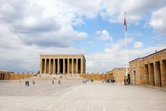 an?tkabir (mausoleum of ataturk) - stock photo
