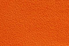 orange color fabric texture - stock photo