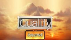 Quality Assured, Metallic Box Assembly Animation Version 2 Stock Footage