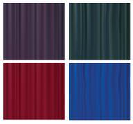 Stock Illustration of silk textures