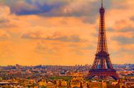 Stock Photo of Eiffel Tower, Paris 1a