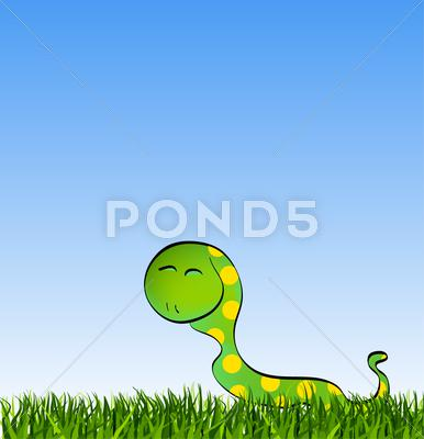 Stock Illustration of animals set isolated on white