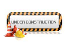 Stock Illustration of under construction