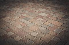 Brick road Stock Photos