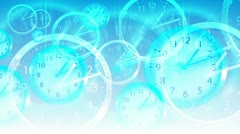 Time Flies Background - Clock 94 (HD) Stock Footage