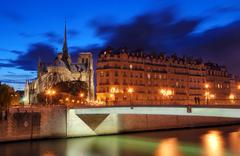 Pont saint-louis. Stock Photos