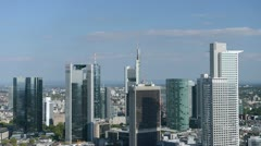 Stock Video Footage of Downtown Frankfurt timelapse