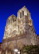 notre dame de paris. - stock photo