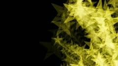 Animated Star Burst Stock Footage