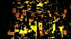 Audio Reactive Cube Stock Footage