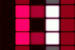 Red/White Square Pattern Stock Footage