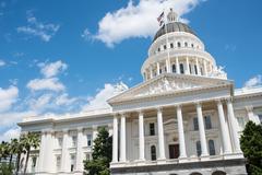 Stock Photo of sacramento state capitol of california building