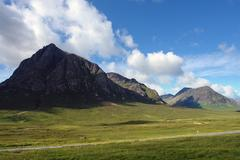 Pictorial buachaille etive mor Stock Photos