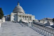 Stock Photo of capitol hill building in washington dc