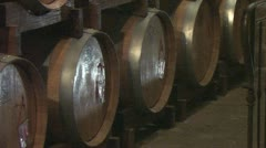 The wine cellars of Montepulciano - stock footage