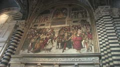 Siena Cathedral Stock Footage
