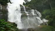 Stock Video Footage of Waterfall in forest.