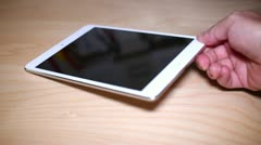 IPad mini Stock Footage