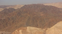 Flying over sinai Stock Footage