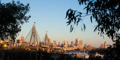 Anzac bridge Stock Photos