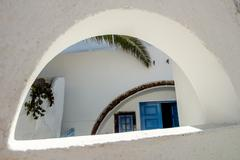 oia architecture - stock photo