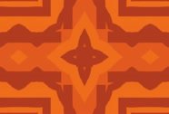 Tribal Pattern Background Stock Footage