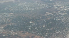 Flying over israel Stock Footage