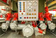 Stock Photo of compressor system