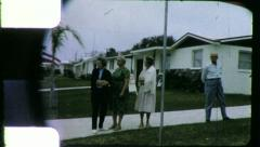 REAL ESTATE Suburban Tract Homes 1960s (Vintage Film Retro Home Movie) 5489 Stock Footage
