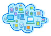 Stock Illustration of Cloud Computing Vector