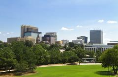 Stock Photo of Columbia, SC skyline - late summer