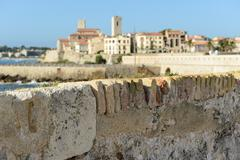 antibes france - stock photo