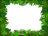Stock Illustration of Tropical plant background