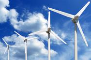 Stock Photo of windfarm