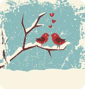 Christmas love Stock Illustration
