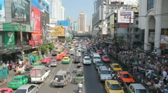 Colorful streets of Bangkok. HD 1080 (1920x1080) - stock footage