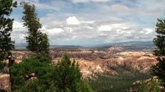 Bryce Canyon. Utah, USA. - stock footage
