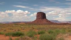 Monument Valley, Arizona-Utah, USA Stock Footage