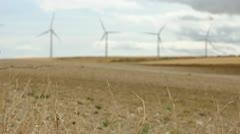 Wind generators Stock Footage