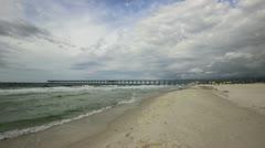 Panama City Beach Multi-Angle Time Lapse Stock Footage