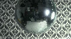 Stock Video Footage of wallpaper discoball
