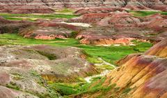 Badlands National Park, South Dakota, USA Stock Photos