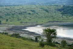 Chambura gorge waterside scenery Stock Photos