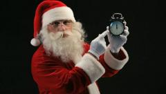 Five minutes to Christmas Stock Footage