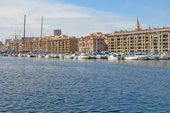 Old port of Marseilles, Provence, France - stock photo